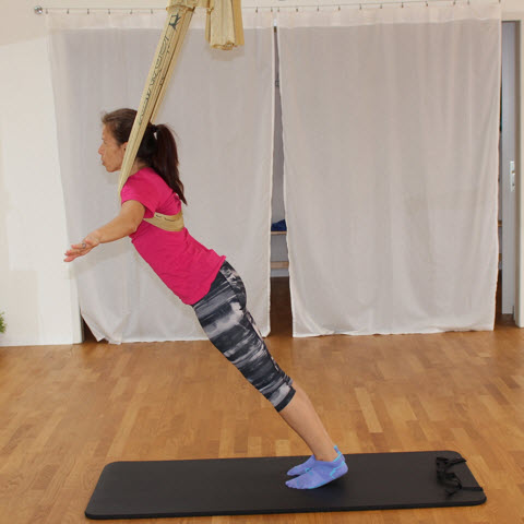 AntiGravity Fitness Training: akrobatisches Fitnesstraining