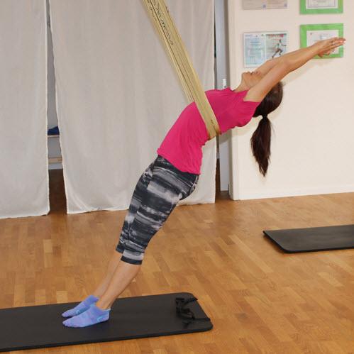 AntiGravity Fitness Training: Kraft und Ausdauer