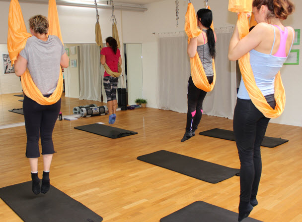 AntiGravity-Fitness Training: Aerial Yoga und Krafttraining